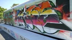 Schwerin: Erneut Graffiti an Wagenpark der Deutschen Bahn AG