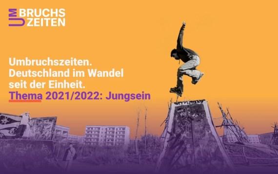 """Jugendwettbewerb """"Umbruchszeiten. Deutschland im Wandel seit der Einheit"""" gestartet"""