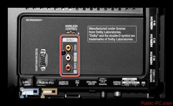 Как подключить ноутбук vga к телевизору через кабель – Как ...