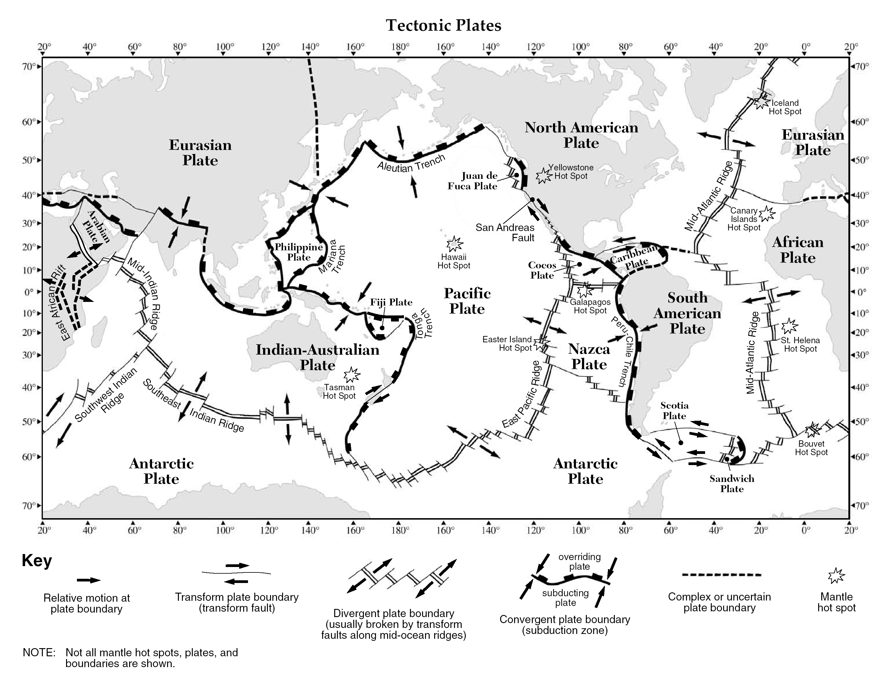 Science Plate Tectonics Worksheet Answer Key Science