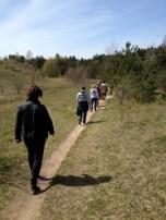 SONSI members walking in Huron nature Reserve. Photo: Elizabeth Pratt.