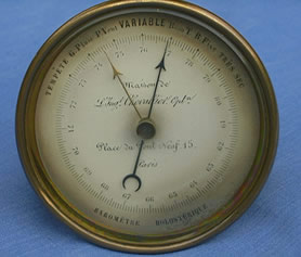 19th century French barometer