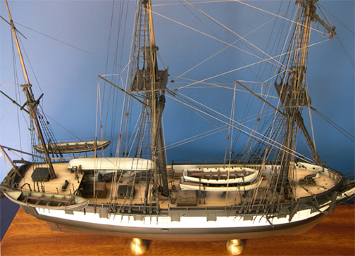 HMS Beagle Replica by Mike Bass