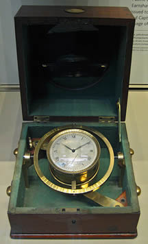 Chronometer from the Beagle