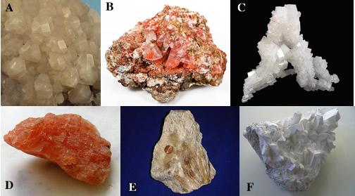 evaporite minerals
