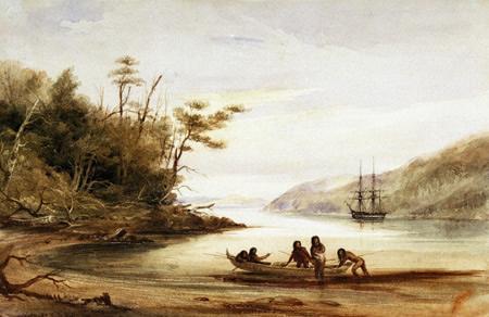 Conrad Martins landscape painting – Portrait Cove