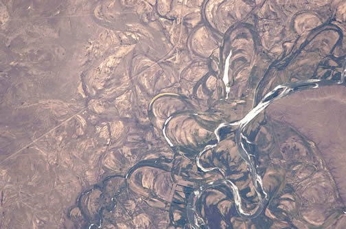 meander scars on Rio Negro