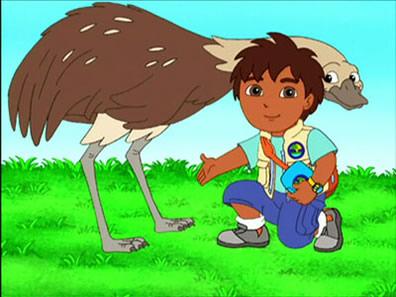 Rhea on Diego