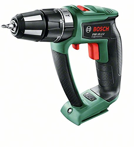 Test et Avis : Perceuse visseuse à percussion Bosch PSR 18 LI-2 Ergonomic