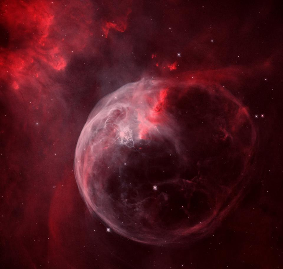 NGC 7635: The Bubble Nebula | Science Mission Directorate