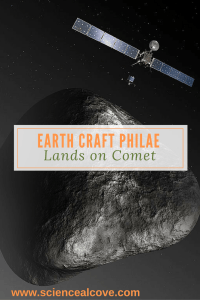 Earth Craft Philae Lands on Comet - http://sciencealcove.com/2014/11/earth-craft-lands-comet/