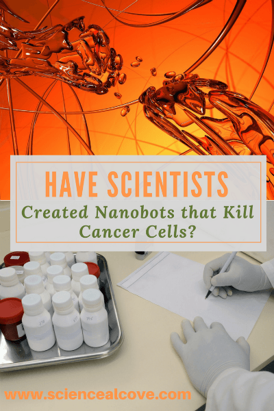 Nanobots that kill cancer cells? It sounds like an idea right out of science fiction. But they are real and may be a therapy not that far away. #cancertreatment #alternative #robots #technology #nanotechnology