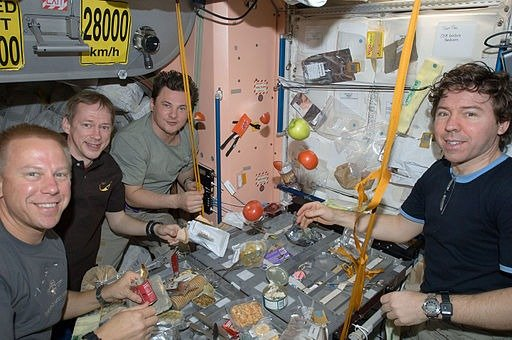 Eating in Space:  How do Astronauts Make it Awesome?