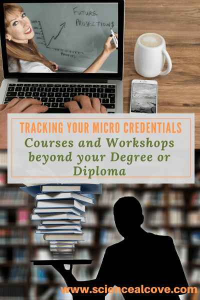 Tracking your micro credentials is vital in today's competitive job market. Resumes and cover letters need those keywords to get you noticed. There are dozens of on-line learning opportunities - both free and paid. I urge you to explore what's out there and start keeping track of those micro credentials.