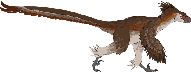 Birds evolved from theropod dinosaurs and are in fact considered living dinosaurs.