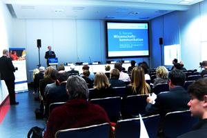 Das Forum Wissenschaftskommunikation in Dresden - Erste Schritte zu Konzepten