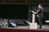 ... Kommunikation vom Katheder (hier EU-Kommussionspräsident Baroso bei der ESOF-Eröffnung).