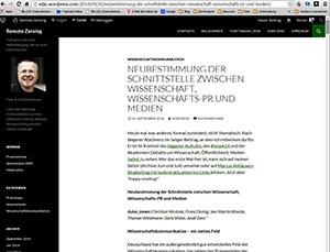 """Das Papier der sechs Helmholtz-Sprecher im Blog """"Remote Zensing""""."""
