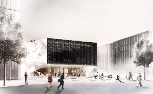 Neue Initiativen: Das geplante Haus der Zukunft.