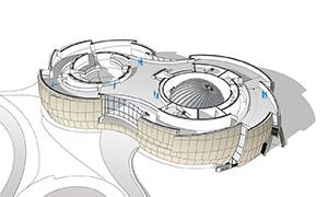 Voller Ideen - ESO Supernova als Astronomiezentrum in Garching mit Tschira-Unterstützung.