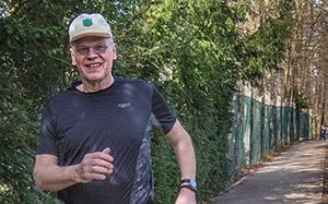 Noch frisch, aber untrainiert - Ein weiter Weg zum Halbmarathon. Unterstützen Sie die Flüchtlings-Blogger durch Ihre Spende!