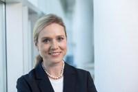 Siemens-Kommunikationschefin Clarissa Haller diskutiert über Wissenschaftskommunikation. (Foto: Siemens) Head of Communications of Siemens AG