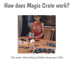 Magic crate