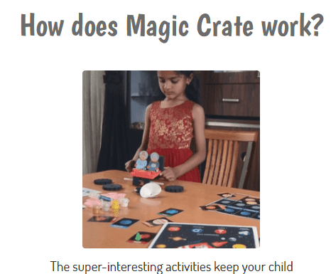 Magic crate