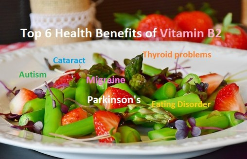Health Benefits of Vitamin B2