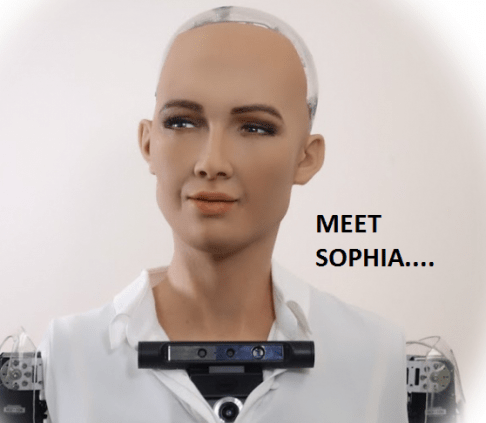 Sophia the Human robot
