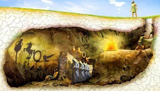 Ο μύθος της σπηλιάς – από την Πολιτεία του Πλάτωνα