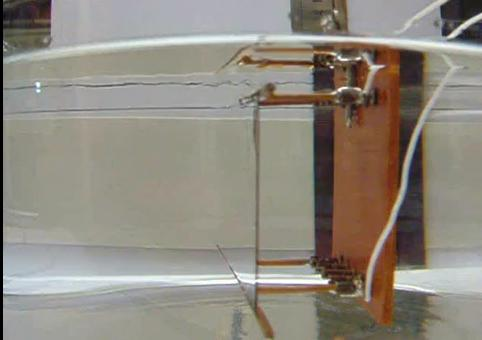 Real-world cloaking device works best underwater