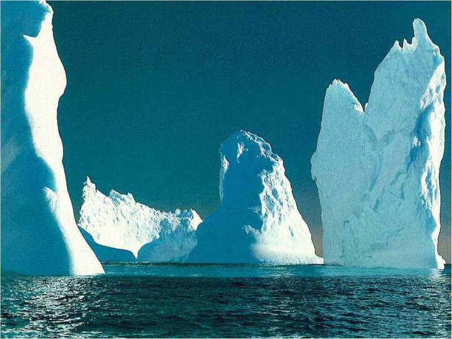 Simultaneous ice melt in Antarctic and Arctic