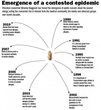 How the world flipped out over peanut allergy