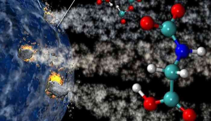 It's a shock: Life on Earth may have come from out of this world