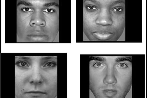 Brain patterns change when gazing on Black, white faces