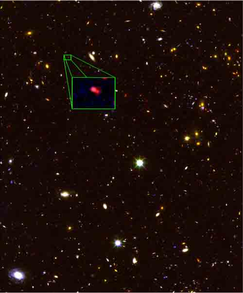 Astronomers Discover Universe's Most Distant Galaxy