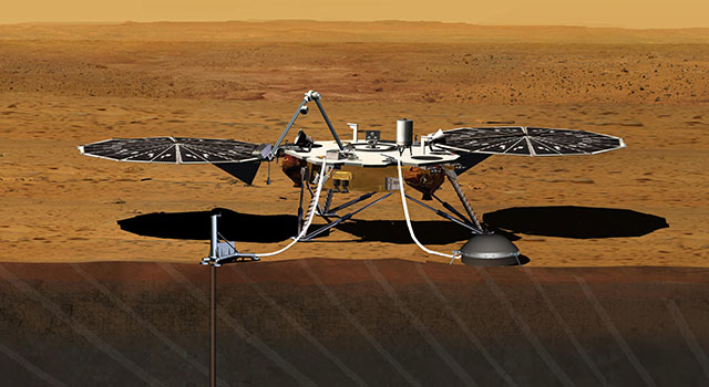 NASA and French Space Agency Sign Agreement for Mars Mission