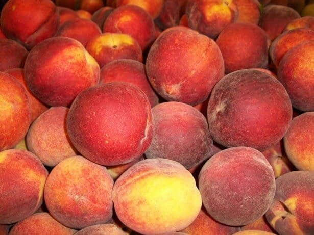 Peaches inhibit breast cancer metastasis in mice