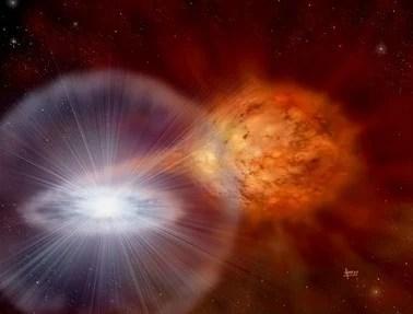 Fermi satellite detects gamma rays from exploding novae