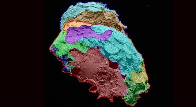First Map of Rosetta's Comet