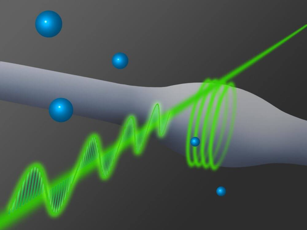 New technique doubles the distance of optical fiber communications