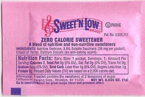 Low energy sweeteners help reduce energy intake and body weight