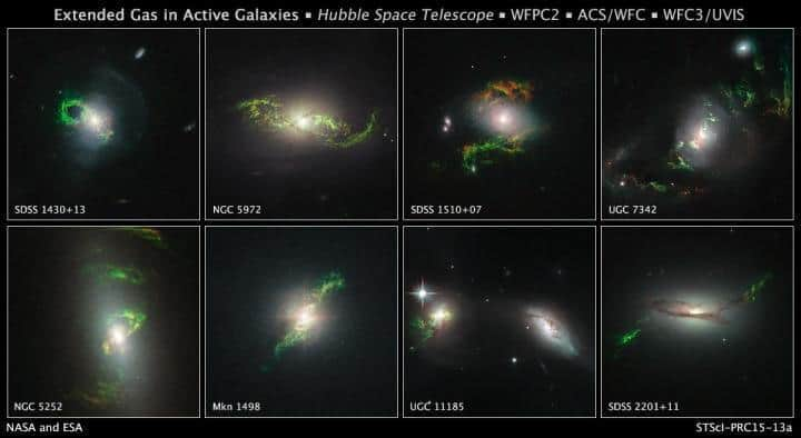Hubble finds phantom objects near dead quasars