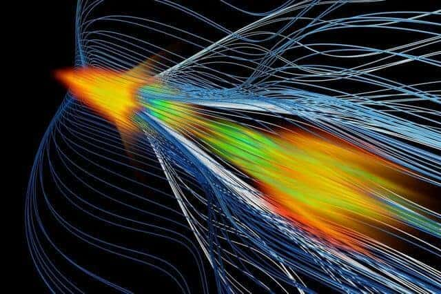 Antimatter catches a wave