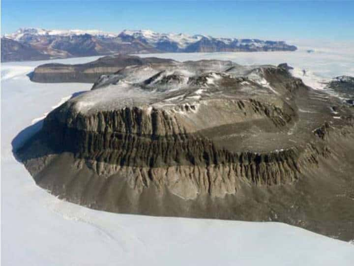 E. Antarctic Ice Sheet has stayed frozen for 14 million years