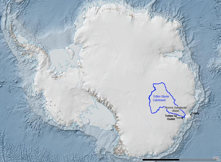 Thinning and retreat of West Antarctic glacier began in 1940s