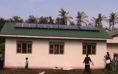 Solar-powered oxygen delivery system save lives in Uganda