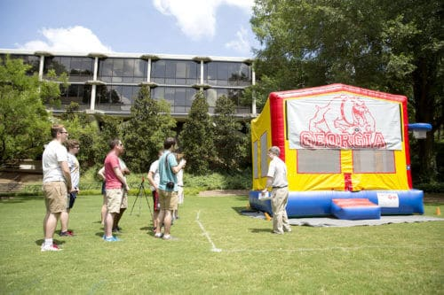 Study shows heat dangers of inflatable bounce houses