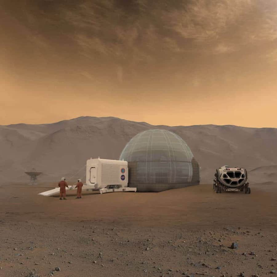 A New Home on Mars: NASA Langley's Icy Concept for Living on the Red Planet